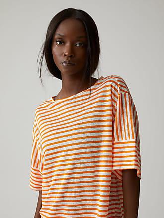 Closed Gestreiftes T-Shirt aus Leinen mango