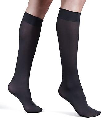 21c12c4cf2a Wolford Velvet de Luxe 50 Denier Knee-High Socks