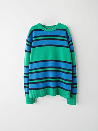 Acne Studios FA-UX-KNIT000011 Green Multicolor Knit sweater