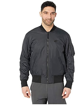 bcb73f9c72f9 Nike NSW Insulated Bomber Jacket (Black Black White White) Mens Coat