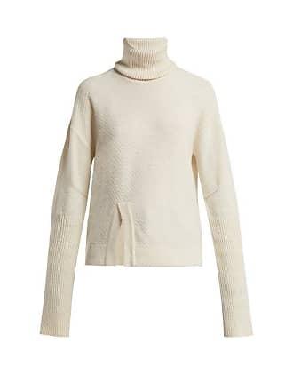 Falke Audrey Roll Neck Wool Blend Sweater - Womens - Cream