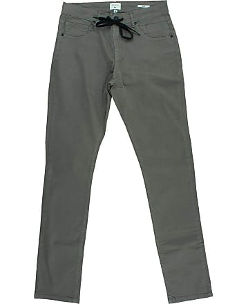 Quiksilver Calça Quiksilver Jeans Skate Color Cinza-46