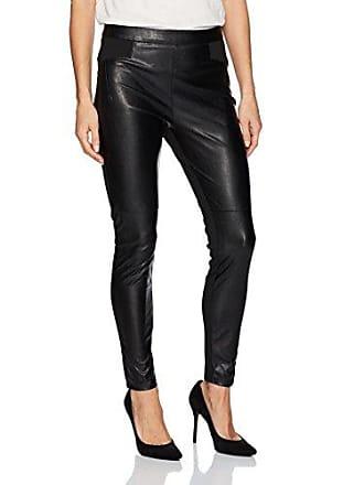BCBGeneration Womens Faux Leather Legging, Black, XX-Small