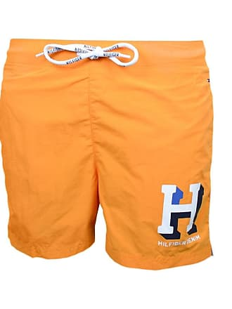fb8407d6baf12 Tommy Hilfiger Short de bain Tommy Hilfiger Badge H orange pour homme