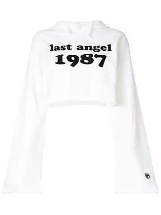 Chiara Ferragni Moletom cropped Last Angel - Branco