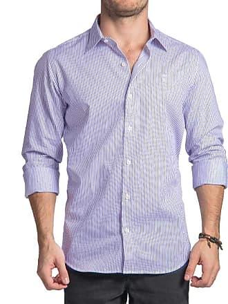Sergio K. Camisa Premium Long Stripes Azul