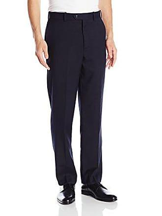 U.S.Polo Association Mens Flat Front Pant, Navy, 38W x 30L