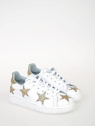 Chiara Ferragni Sneakers with Glittered Stars size 36