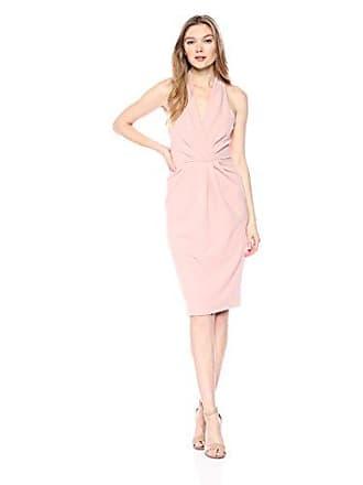 Betsey Johnson Womens Halter Dress, Blush, 12
