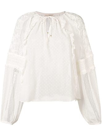 Ulla Johnson sheer Audrey blouse - Neutrals