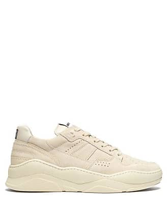 Ami Ami - Basket Suede Low Top Trainers - Mens - White Multi