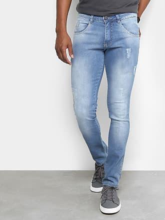 3c6d23569 Biotipo Calça Jeans Skinny Biotipo Puídos Cintura Média Masculina -  Masculino