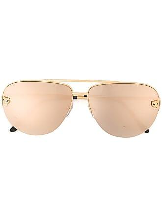 6eac81ebb98 Cartier Óculos de sol modelo Panthère - Metálico