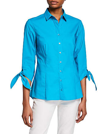 5295b88ea34 Finley Jackie Button-Front Tie-Sleeve Blouse