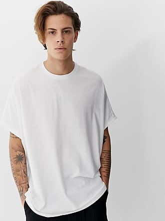 bdaba8a5c81cd7 Asos Extremes Oversized-T-Shirt aus Bio-Material in Weiß - Weiß