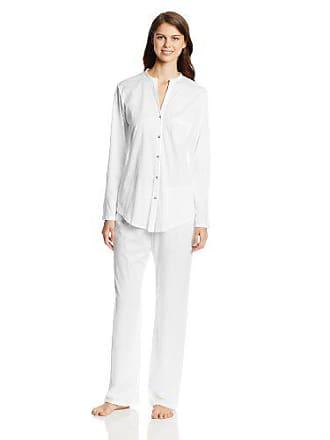 e0833888a7319 Hanro Ensemble de pyjama - Femme - Blanc (White 0101) - XXL (Taille