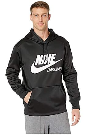 fc3293a650a0 Nike Baseball Hoodie (Black White) Mens Sweatshirt