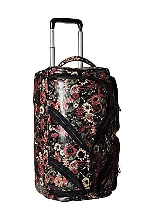 18469a34a Sakroots Artist Circle Suitcase (Graphite in Bloom) Luggage