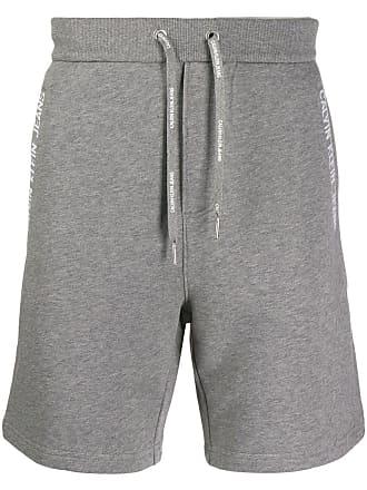 Calvin Klein Jeans logo taped shorts - Grey