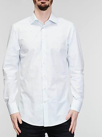 Rabaini Etro - Camicia micro logo - Azzurro