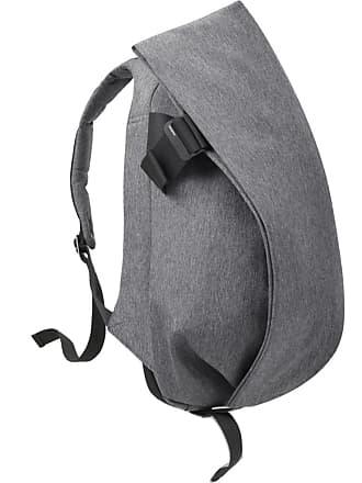 Côte & Ciel Isar Large Eco Yarn Backpack   Black Melange