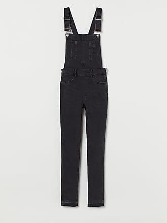 H&M Denim Bib Overalls - Black