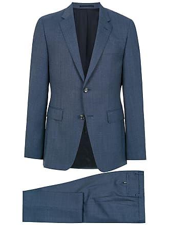 HUGO BOSS Terno de lã com duas peças - Azul