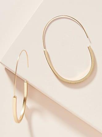 Anthropologie Annelise Hoop Earrings