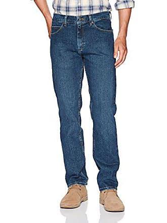 Lee Mens Regular Fit Straight Leg Jean, Patriot, 42W x 29L