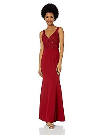 35ecdd9f096ce Speechless Juniors Sequin Bodice Full-Length Trumpet Prom Dress