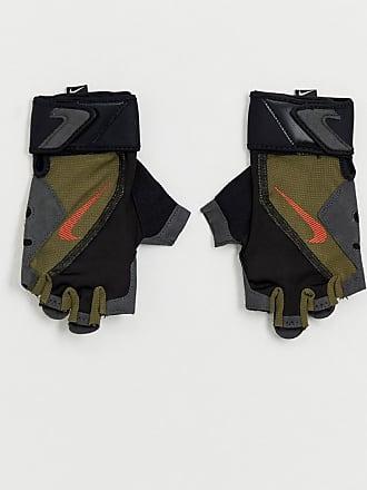 online store 7b5d4 27044 Nike Training - Hochwertige Fitness-Handschuhe in Khaki - Grün