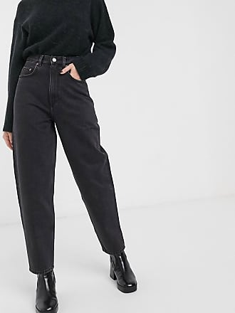 & Other Stories ovoid leg jean in washed black