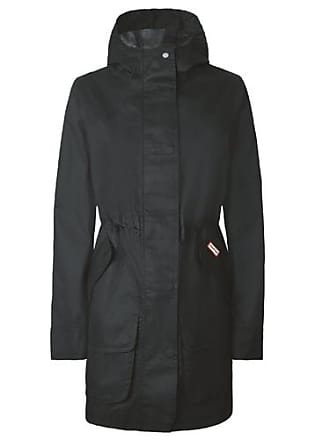 e260de150411f Hunter Womens Original Cotton Hunting Coat Black