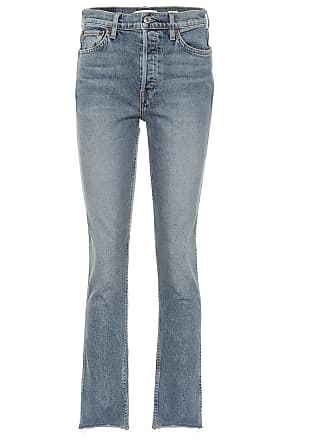 Re/Done Double Needle straight jeans