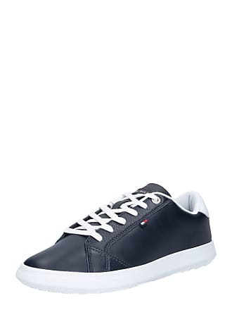 734bd38a2eb Tommy Hilfiger Sneakers laag ESSENTIAL LEATHER CUPSOLE navy / wit