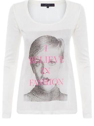 J. Chermann Camiseta I Believe J. Chermann - Off White