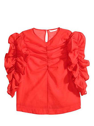 H&M Georgette Blouse - Red
