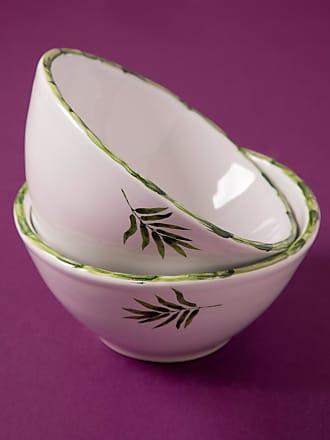 Tania Bulhões Bowl Bambu Branco - Lifestyle - Único BR