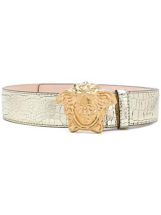 Versace 3D Medusa buckle belt - Metallic