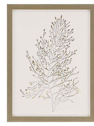 Paragon Picture Gallery Paragon Gold Foil Algae IV Framed Wall Art - 3075