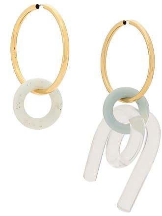 Esteban Cortazar turquoise and resin earring set - Neutro