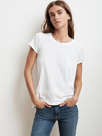 Velvet Tressa T-Shirt In Weiß - L