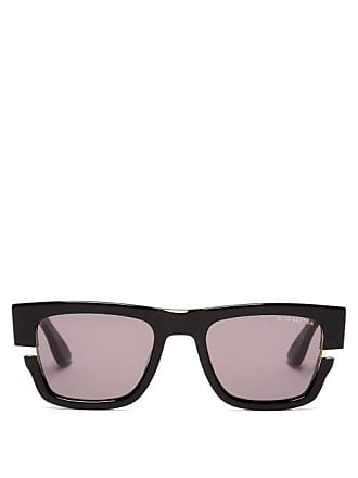 6a7cd0b29a30 Dita Eyewear Sekton Cut Out Frame Acetate Sunglasses - Mens - Black