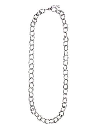 Fillity Colar longo argolas - Metálico