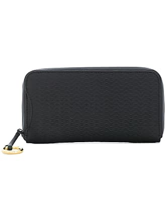 Zanellato embossed zip wallet - Black