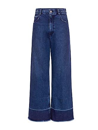 Rachel Comey Legion High-rise Distressed Jeans Classic Indigo