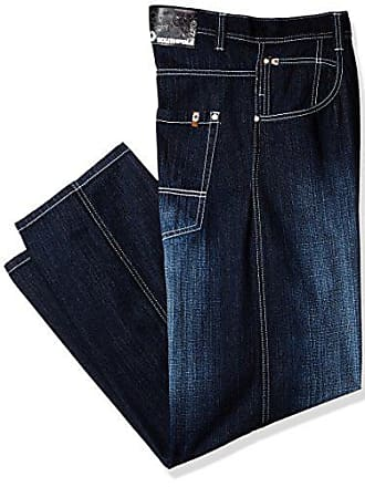 Southpole Mens Big and Tall Relaxed Fit Basic Sand Blasted Core Denim, Dark Blue (New), 48
