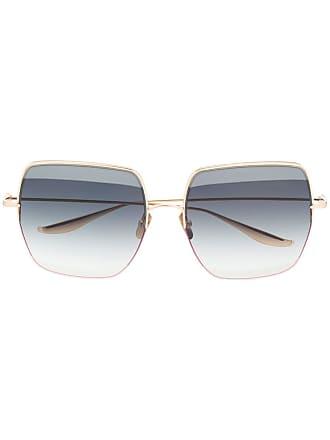 Dita Eyewear Óculos de sol oversized Metamet - Dourado
