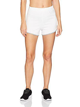 0c32a16a9b20 Soffe Womens Juniors Cheer Short with Trim, White, Small