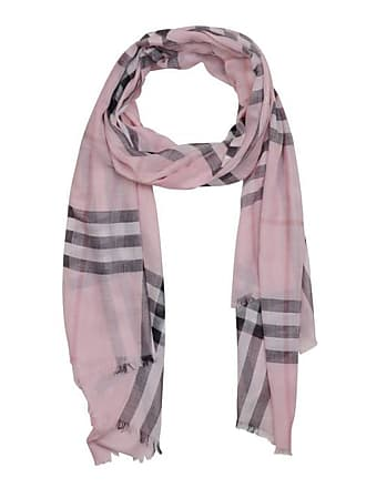 Burberry Chèche léger femme en laine et soie à motif check ... de2d67b3b48